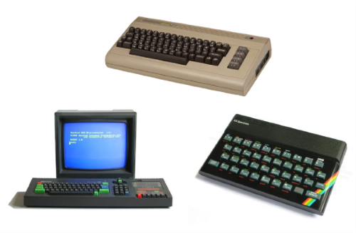 8-bit legends: Amstrad, Commodore, Spectrum - MakeQuestions challenge image