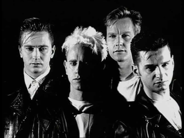 Depeche Mode song lyrics quiz - MakeQuestions challenge image