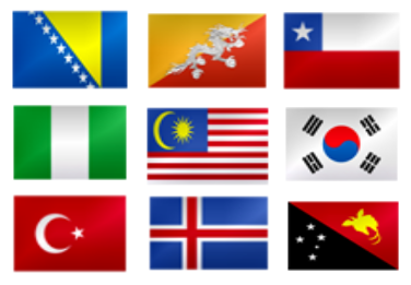 A challenge about flags - MakeQuestions challenge image