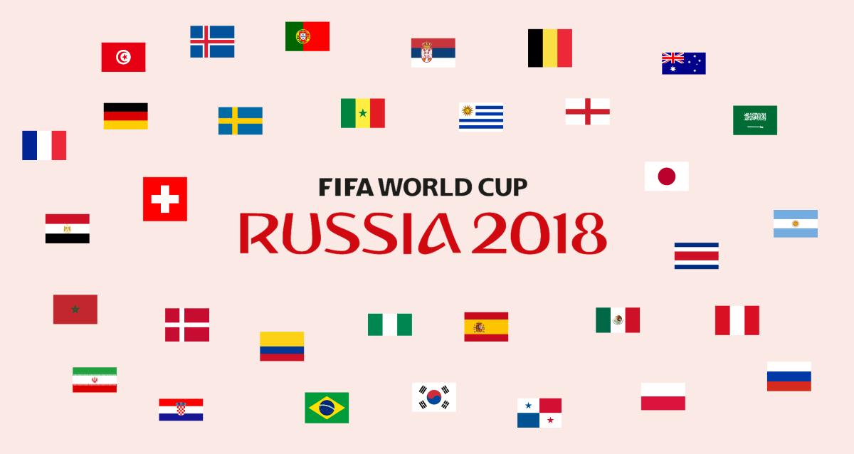 online aquí nueva apariencia buscar autorización Quiz de los equipos participantes en el Mundial de Rusia ...