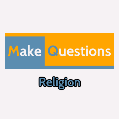 Religion - MakeQuestions category image