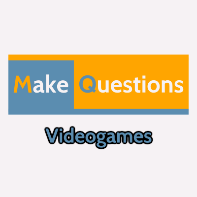 Videogames - MakeQuestions category image